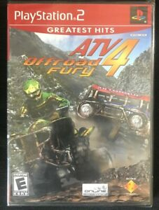 ATV Offroad Fury 4 (Greatest Hits) BRAND NEW FACTORY SEALED  PlayStation 2 PS2