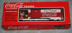 0/027 Scale K-Line Coca Cola Christmas Box Car K644702 1991