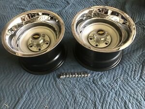 1971 87 Chevy Gmc Truck 5 On 5 15x10 Gm Original Truck Rallys Set Of 2