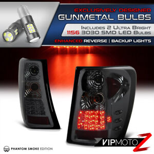 Smoke Tail Signal Light for 99 04 Jeep Grand Cherokee Super Bright Led Backup