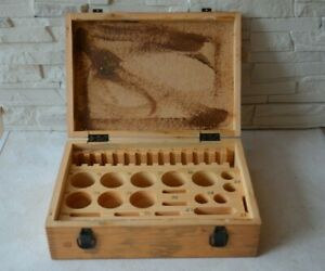 Lomo Original Wooden Box For Ussr Big Microscope Lumam R8