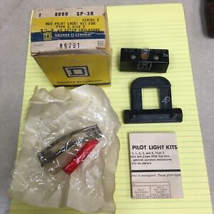Square D 9999sp3r 9999 Sp3r Sp 3r Schneider Telemecanique Pilot Light Kit Size 2