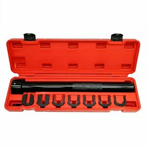 7pcs Universal Inner Tie Rod End Installer Remover Tool Adjuster Cars 1 2 Dr