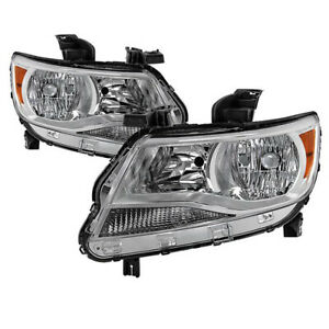 15 16 17 Chevy Colorado Direct Replacement Chrome Factory Style Headlight Lamp