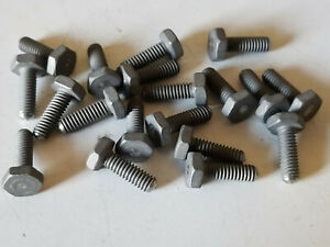 Lot Of 19 Titanium Hex Head Screws 8 32 By 1 2 Length