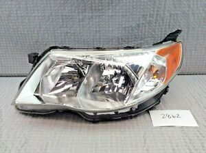 2009 2010 2011 2012 2013 Subaru Forester Halogen Right Oem Headlight
