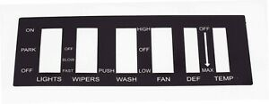 67 73 Jeepster Commando And Jeep Commando Swith Panel Decal