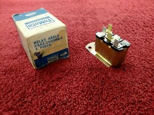 1967 1968 Mustang Cougar Low Fuel Relay W Convenience Panel 67 68