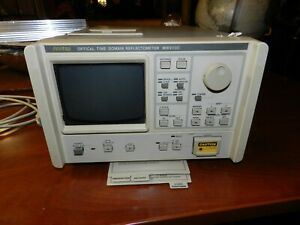 Anritsu Mw910c Mh955a1 Optical Time Domain Reflectometer otdr Mt78663