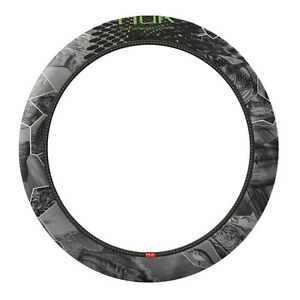 Huk Fishing Steering Wheel Cover Camo Auto Truck Car Fresh Water Gray