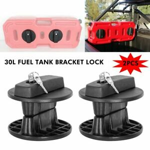 30l Fuel Tank Lock Gas Container Gasoline Pack Jerry Can Mounting Bracket Holder