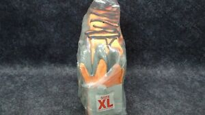 Showa Atlas 454 X large Insulated Gloves 1 Dozen Orange Acrylic Latex Polyester