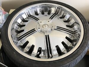 26 Inch Rims And Tires Brand New Dodge Truck Ford Bolt Pattern