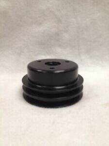 Champ Pans Sbc Billet Aluminum Pulleys 5 13 16 Lower Pulley Long Water Pump