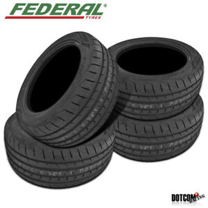 4 X Federal Evoluzion St 1 215 35zr18 All Season Performance Tires