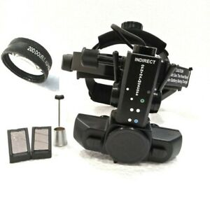 Indirect Ophthalmoscope With Accessories 20 D Lens Free Shipping Worldwide