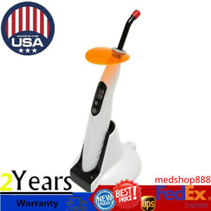 Woodpecker Style Dental Wireless Led Curing Composite Resin Light Lamp Led b Usa