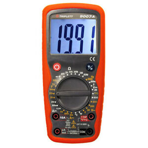 Triplett 9007 a Industrial Ac dc Digital Multimeter With 30 Ranges