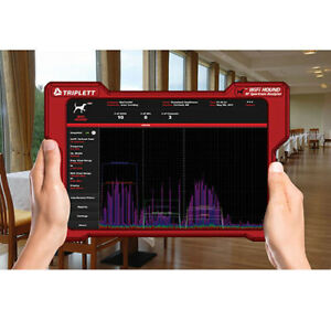Triplett Wifi Hound 2 4ghz 5ghz Wireless Network Spectrum Analyzer