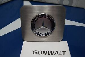 Mercedes Benz Hitch Cover Plug Stainless Steel Ml350 Ml500 Ml550 Ml55 Ml63 Amg