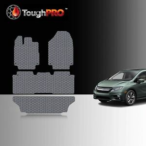 Toughpro Floor Mats 3rd Row Gray For Honda Odyssey All Weather 2018 2021