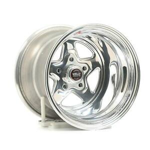 Weld Racing Prostar Polished Wheel 15 x12 5x4 75 Bc Set Of 2 96 512276 2