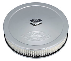 Proform Fits Ford Racing Air Cleaner Kit Chrome Raised Logo 302 350