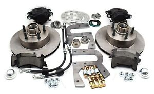 48 51 Jeepster And 46 55 Willys Station Wagon Disc Brake Kit