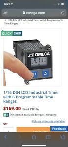 Omega Ptc 1a Programmable Digital Timer