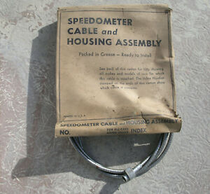 Speedometer Cable Housing 1937 41 Chrysler Dodge Plymouth Olds Packard 38 39 40