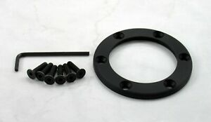 Nardi Horn Button Trim Ring Black Screws At Sight For Gara Sport And Challenge