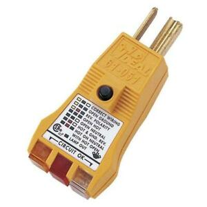 Ideal Gfci Circuit Tester Test Meter Electrical Outlet Check Plus Receptacle
