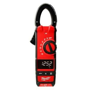 Milwaukee Digital Clamp Meter Tester 600 Amp Ac Dc Electrical Heavy Duty Tool