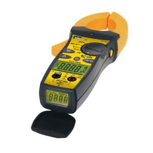 Ideal Clamp Meter Trms Voltage Frequency Tester 660 Amp Ac Tight Sight Digital