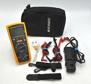 Fluke 1587 Insulation Multimeter Kit Ac dc Voltage Lcd Display 1000v Testing