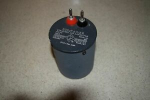 General Radio Standard Air Capacitor Type 1401 c 500 Pf 0 12 82