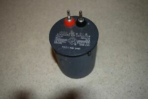 General Radio Standard Air Capacitor Type 1401 d 4000 Uuf 0 1 81