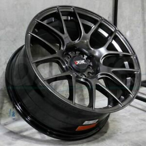 17x8 25 Chromium Black Wheels Xxr 530 5x100 5x114 3 25 Set Of 4