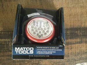 Matco Tools Rt2 Rotating Magnetic Led Work Light