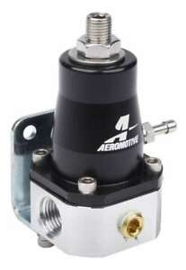 Aeromotive 13129 Compact Efi Bypass Fuel Pressure Regulator 6an Inlet 6an Return