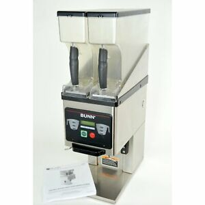 Bunn Mhg 35600 0000 Dual Hopper Coffee Grinder Digital Portion Control