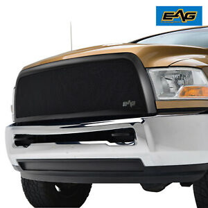Eag Fit 10 12 Dodge Ram 2500 3500 Front Grille Black Stainless Steel Replacement