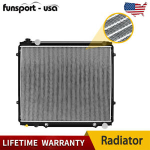 For 2000 2006 Toyota Tundra 4 7l V8 Aluminum Radiator W Cap To Prevent Dust Us
