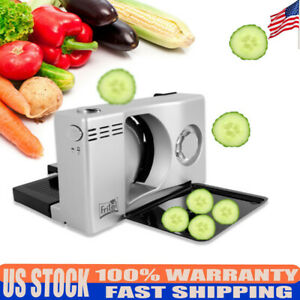 110v 100w Electric Food Slicer Fruit Lamb Slices Shred Cut Meat Planing Machine