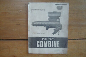 1974 Co op Implements Model 960 Pull type Combine Operator s Manual