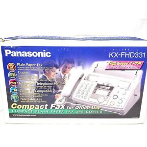 Panasonic Kx fhd331 Fax Copy Machine Copier Lightly Used Complete In Open Box