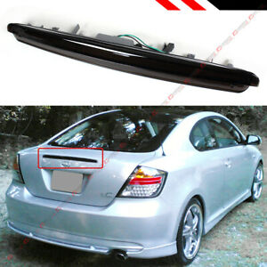 For 2005 10 Scion Tc Full Led Smoked Tinted Lens 3rd Brake Light Trunk Stop Lamp