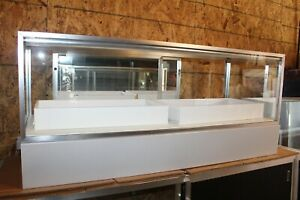 27 75 X 22 X 60 Jewelry Showcase Retail Display Case Pickup