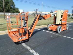 2012 Jlg E300ajp Electric Articulating Boom Lift Man Lift Manlift Boomlift