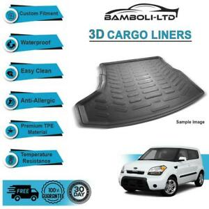 3d Cargo Liner Boot Liner Rear Trunk Mat For Kia Soul 2011 2013
